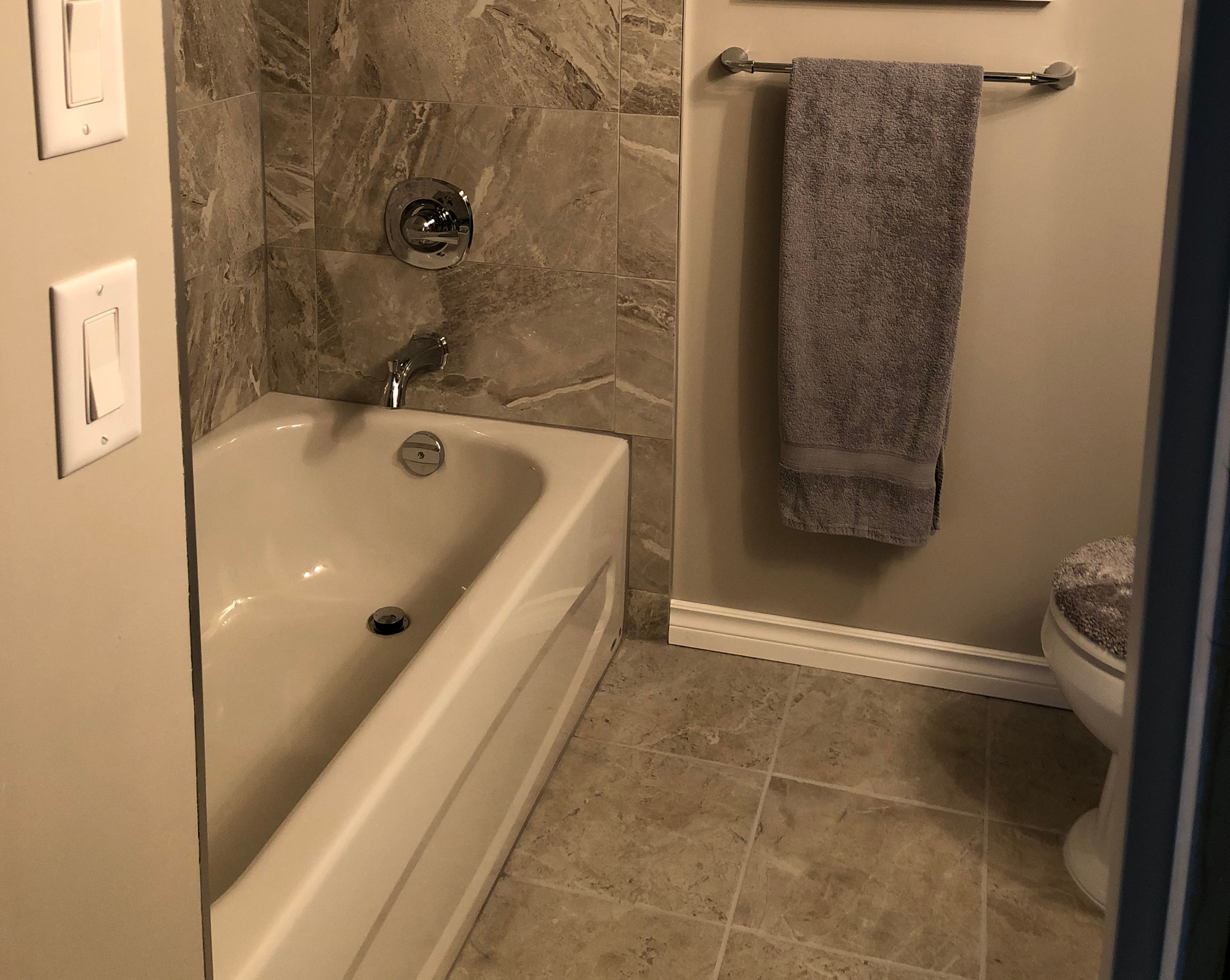 Complete Bathroom Build by EGK General Contracting